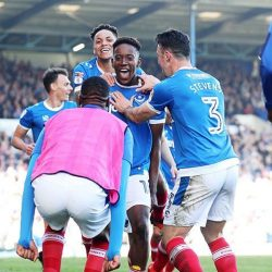 Jamal Lowe First Goal Portsmouth Yeovil League Two
